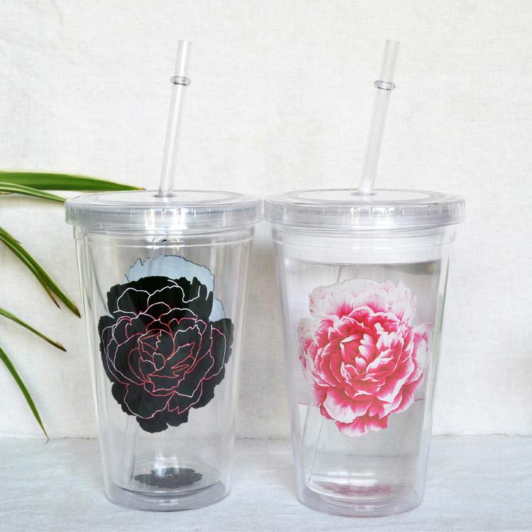 创意定制塑料变色杯